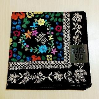 ANNA SUI - ANNA SUI ハンカチ 刺繍