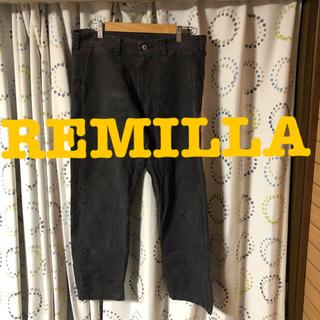 コモリ(COMOLI)のREMILLA デニム パンツ ダメージ加工 vintage(デニム/ジーンズ)