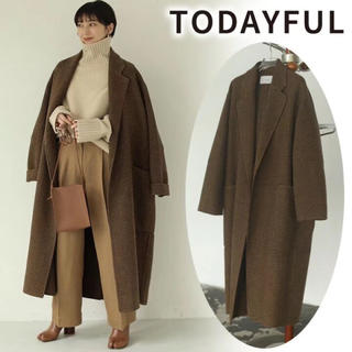 TODAYFUL - 38サイズ TODAYFUL オーバーチェックコート CHO 正規品