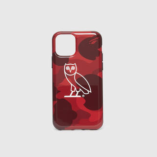 アベイシングエイプ(A BATHING APE)のOVO X BAPE COLOR CAMO I PHONE11 PRO CASE(iPhoneケース)