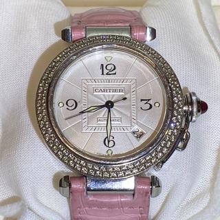 カルティエ(Cartier)のカルティエ パシャ 38mm アフターダイヤベゼル 150周年記念限定竜頭(腕時計(アナログ))