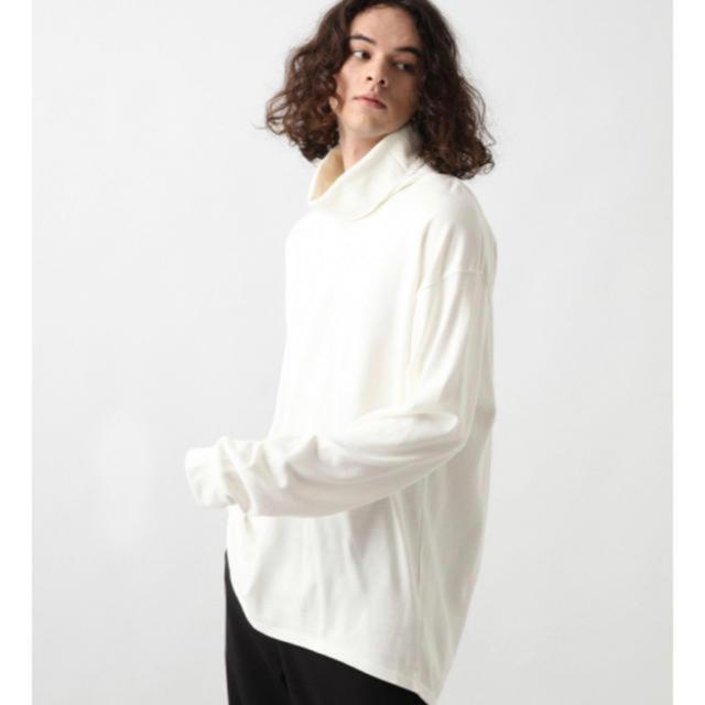 HARE(ハレ)のボリュームネックカットソー タートルネックtシャツ メンズのトップス(Tシャツ/カットソー(七分/長袖))の商品写真