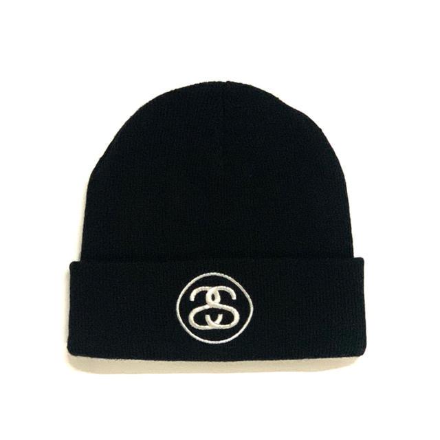 STUSSY(ステューシー)のSTUSSY - SS Logo Beanie ビーニー ニット帽  メンズの帽子(ニット帽/ビーニー)の商品写真