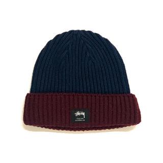 STUSSY - STUSSY - 2 Tone Beanie ビーニー ニット帽