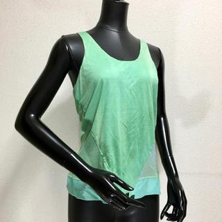 フェンディ(FENDI)のフェンディ タグ付 シルクノースリーブシャツ(シャツ/ブラウス(半袖/袖なし))