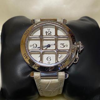 カルティエ(Cartier)のカルティエ パシャ ダイヤモンド竜頭  38mm  グリッド (腕時計(アナログ))