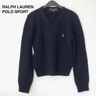 POLO RALPH LAUREN - RALPH LAUREN POLO SPORT コットンセーター/ネイビー/M