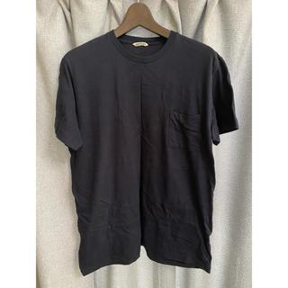 1LDK SELECT - auralee オーラリー ポケットTシャツ ネイビー サイズ5 私物ennoy