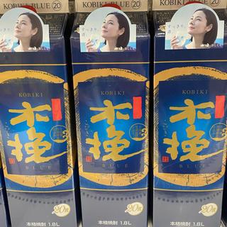 雲海酒造 木挽BLUE 1800mlパック 12本セット 2ケース(焼酎)