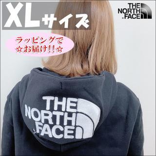 THE NORTH FACE - セール★XLサイズ★ノースフェイス リアビュー フルジップ パーカー 黒