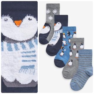 ネクスト(NEXT)の新品❣️ネクスト ペンギン柄  靴下セット(靴下/タイツ)