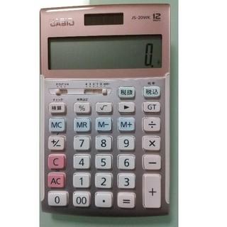 CASIO - CASIO 電卓 カシオ JS-20WK(ピンク)