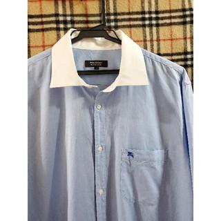 BURBERRY BLACK LABEL - 【希少size42!未使用に近い】Yシャツ ドレスシャツ