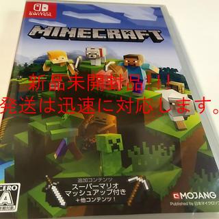 任天堂 - 新品未開封 マインクラフトswitchソフトMinecraft Switch