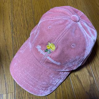レピピアルマリオ(repipi armario)のrepipi armario   キャップ ベロア(帽子)