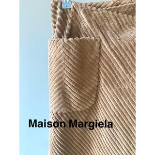 マルタンマルジェラ(Maison Martin Margiela)の★美品★メゾンマルジェラ ミモレ丈 コーデュロイラップスカート(ロングスカート)
