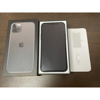 iPhone - iPhone11pro Space Gray 64 GB SIMフリー