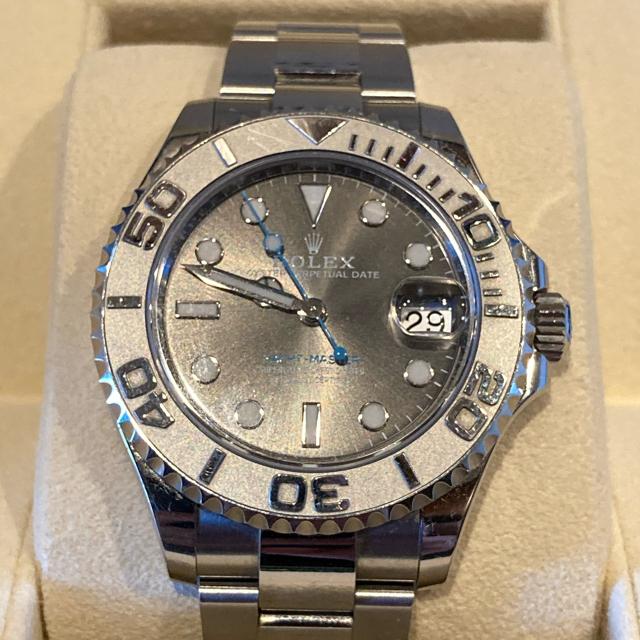 ROLEX(ロレックス)のロレックス ヨットマスター37ダークロジウム メンズの時計(腕時計(アナログ))の商品写真