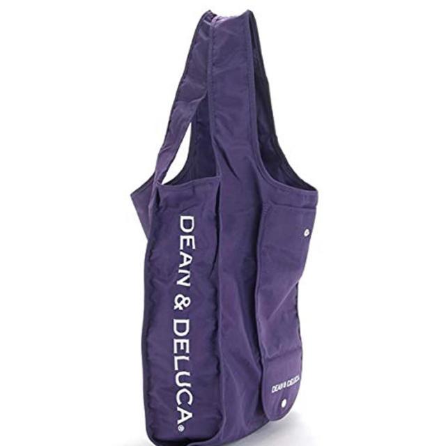DEAN & DELUCA(ディーンアンドデルーカ)のDEAN&DELUCA エコバッグ 紫 京都限定 ディーンアンドデルーカ レディースのバッグ(エコバッグ)の商品写真