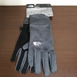 THE NORTH FACE - 【新品】THE NORTH FACE  Etip Glove L グレー