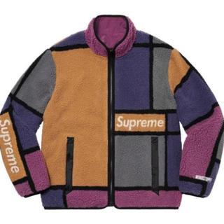 シュプリーム(Supreme)のSupreme Colorblocked Fleece Jacket XL(ブルゾン)