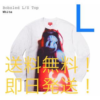 Supreme - 【新品タグ付】supreme Bobsled L/S Top 白 Lサイズ