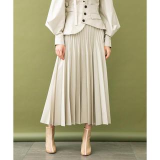 STUDIOUS - 新品タグ付き UNITED TOKYO  コルセットプリーツスカート