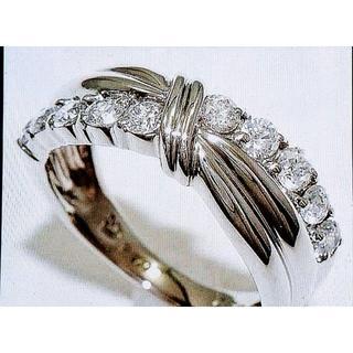 値下✨VVS最高級✨スイートテン ダイヤモンドプラチナ リング ダイヤ(リング(指輪))