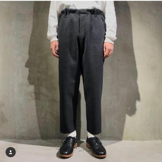 SUNSEA - 【送料無料】SUNSEA  CUT OFF MELTON PANTS /2