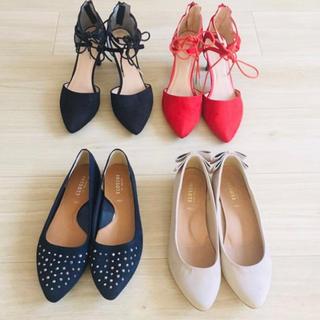 靴4足セット XLサイズ(ハイヒール/パンプス)