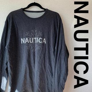 ノーティカ(NAUTICA)のNAUTICA カットソー 長袖 古着 レア(Tシャツ/カットソー(七分/長袖))
