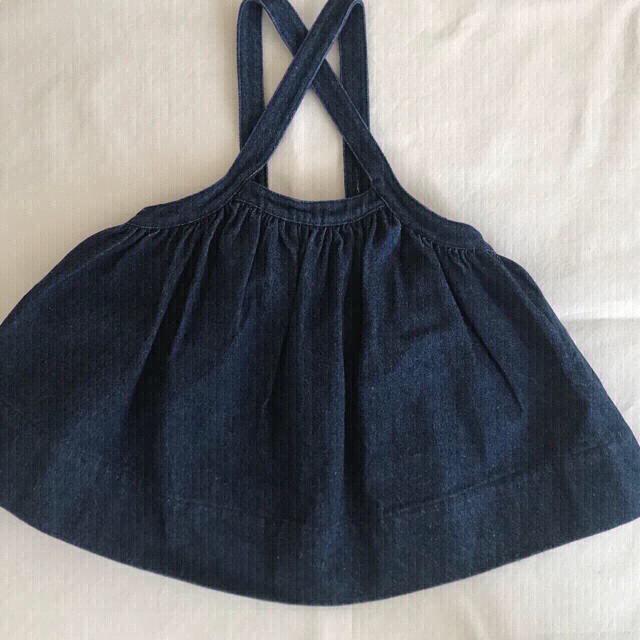 Caramel baby&child (キャラメルベビー&チャイルド)のsoor ploom  Eloise Pinafor  2〜3y  キッズ/ベビー/マタニティのキッズ服女の子用(90cm~)(スカート)の商品写真
