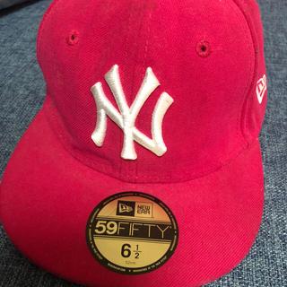 ニューエラー(NEW ERA)のNEWERA・キッズキャップ52cm(帽子)
