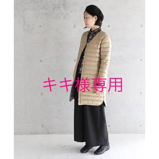 DANTON - キキ様専用 DANTON インナーダウンコート ロング 38 ベージュ