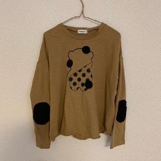 こども ビームス - ランキーグロウ・frankygrowベージュロングTシャツ