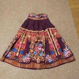 イノセントワールド(Innocent World)のイノワ 宮殿の薔薇スカート(ひざ丈スカート)