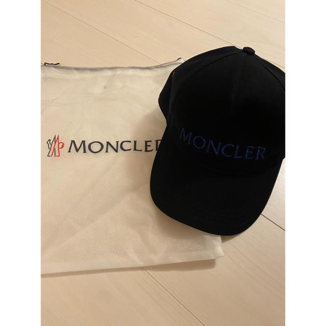 MONCLER(モンクレール)の即完売!MONCLERモンクレール キャップ帽子 レア メンズの帽子(キャップ)の商品写真