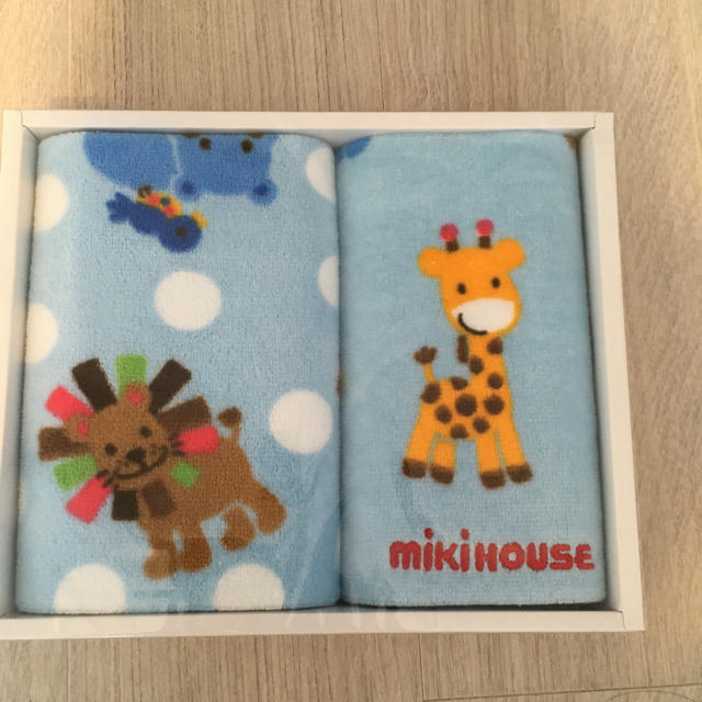 mikihouse(ミキハウス)のミキハウス タオル セット キッズ/ベビー/マタニティのこども用ファッション小物(その他)の商品写真