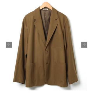 ワンエルディーケーセレクト(1LDK SELECT)のauralee super soft wool flannel jacket(テーラードジャケット)