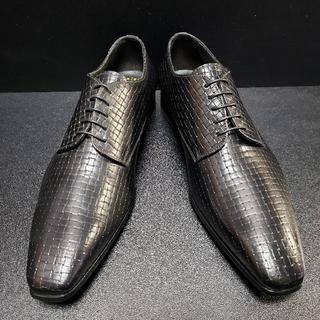 デュカルス(DOUCAL'S) イタリア製革靴 黒 41