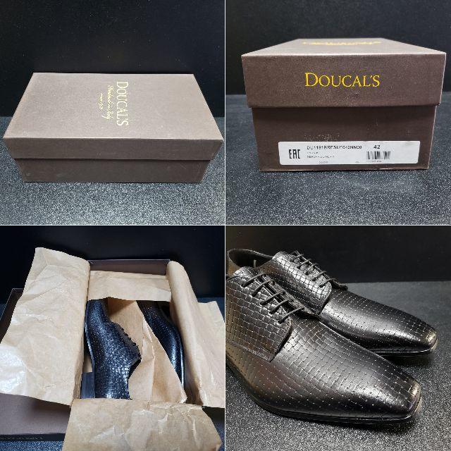 デュカルス(DOUCAL'S) イタリア製革靴 黒 42 メンズの靴/シューズ(ドレス/ビジネス)の商品写真