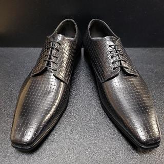 デュカルス(DOUCAL'S) イタリア製革靴 黒 42