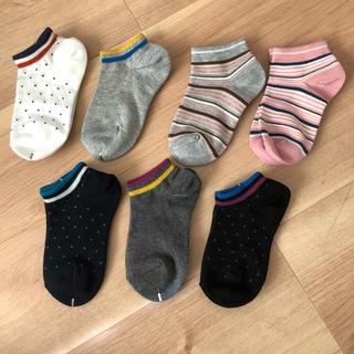 ジーユー(GU)の新品未使用⭐︎GUソックス1足からでも⭐︎同梱に(靴下/タイツ)