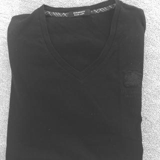 バーバリーブラックレーベル(BURBERRY BLACK LABEL)のBURBERRY ブラックレーベル メンズ Tシャツ サイズM(Tシャツ/カットソー(半袖/袖なし))