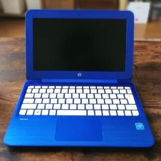 HP - 鮮烈なブルー!小型持ち運び便利/インカメラ/オンライン授業OK/2015年式