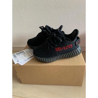 アディダス(adidas)のYEEZY BOOST 350 Infant kids 13cm ベビー 黒(スニーカー)