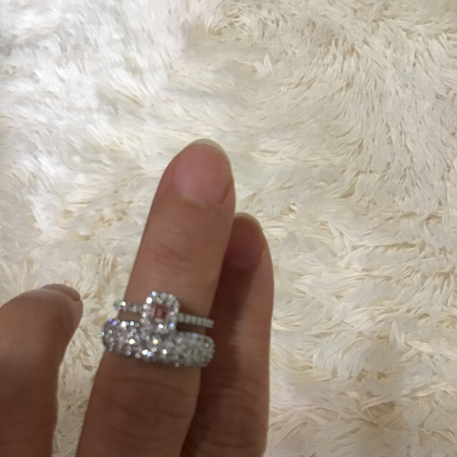 Tiffany & Co.(ティファニー)のティファニー ソレスト ほぼ未使用 レディースのアクセサリー(リング(指輪))の商品写真