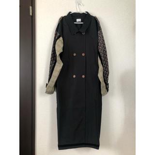 merry jenny - merry jenny  patchwork trench coat コート
