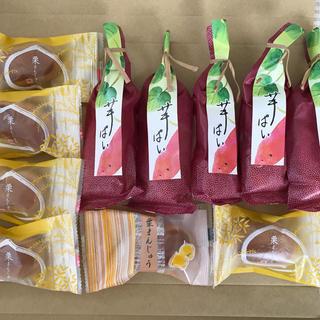 お菓子 和菓子 詰め合わせセット         栗まんじゅう➕芋ぱい 食べ比べ