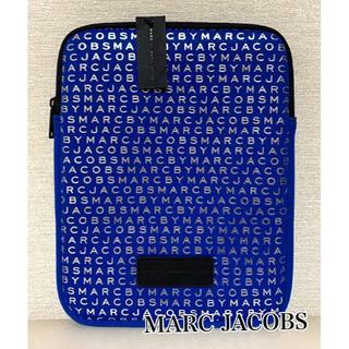 マークバイマークジェイコブス(MARC BY MARC JACOBS)のMARC BY MARC JACOBS ☆ 新品未使用 PC ケース ブルー(クラッチバッグ)